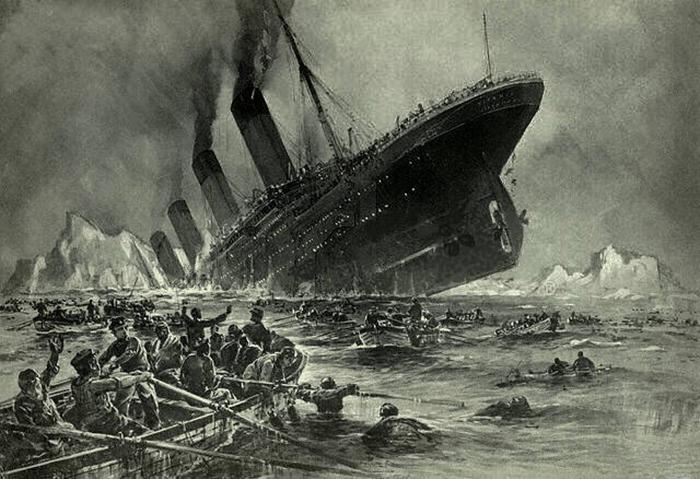 Гибель «Титаника».
