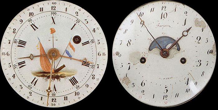 Часы времён Французской революции.