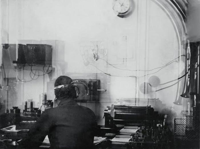 Единственная известная фотография радиорубки Титаника.