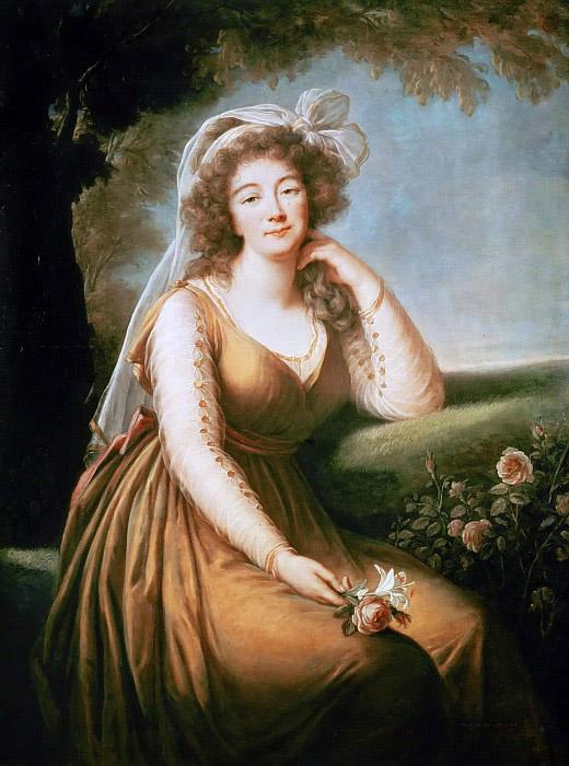 Мадам дю Барри - последняя фаворитка короля Людовика XV.