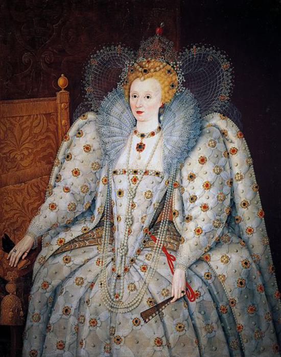 Истинно королевское украшение.