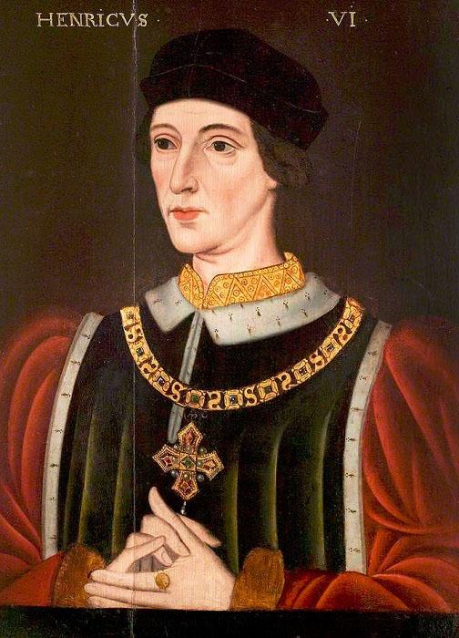 Король Генрих VI Английский.