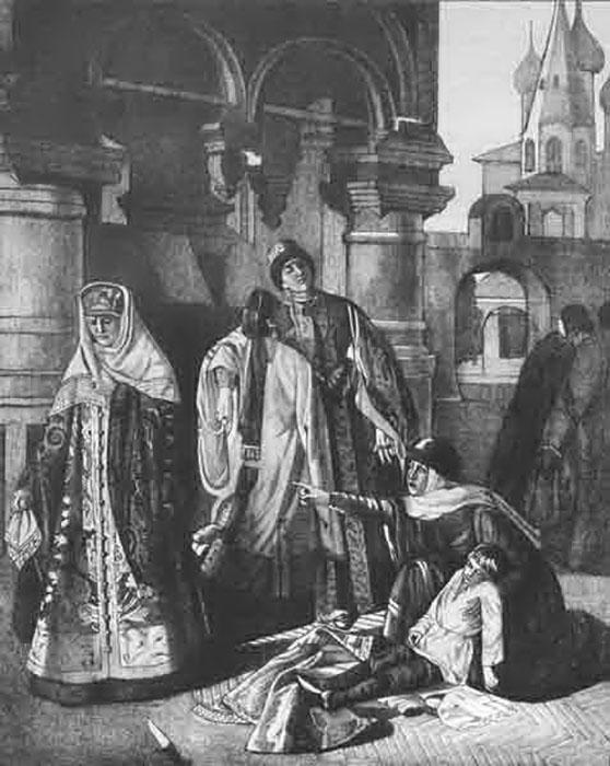 Смерть царевича Дмитрия.