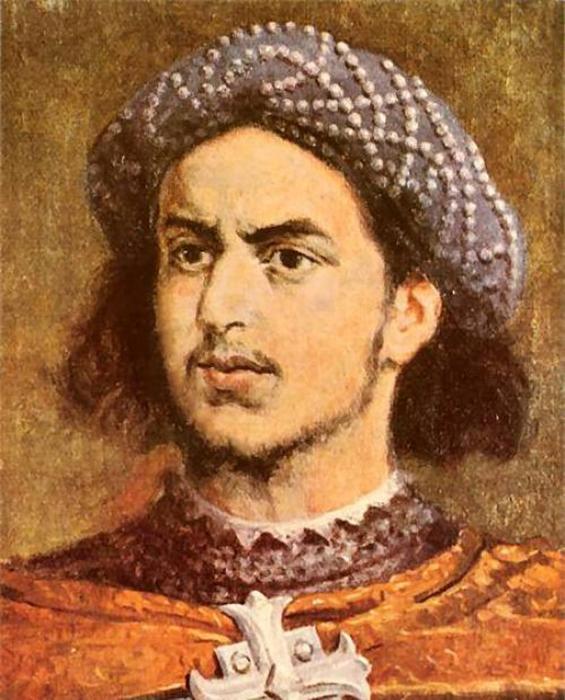 Молодой Христофор Колумб.