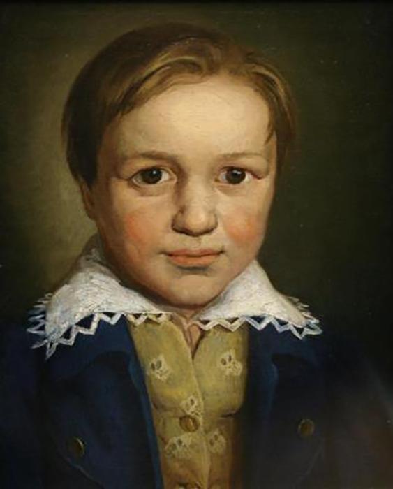 Маленький Людвиг ван Бетховен.
