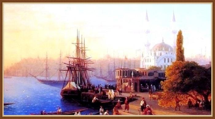 Последний османский султан вынужден был спасаться бегством.