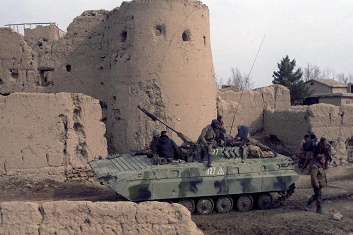 Кадр из фильма о крепости Бадабер.