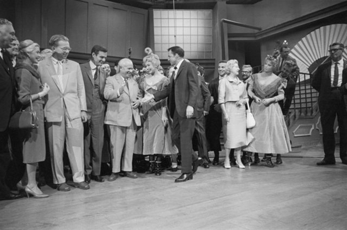 Хрущев встречает Фрэнка Синатру, 1959 год.