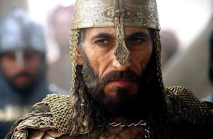 Таким султана Саладина изобразил кинематограф.