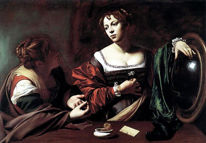 Сёстры Лазаря - Мария и Марфа.