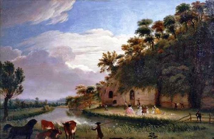 Живопись 1745 года.