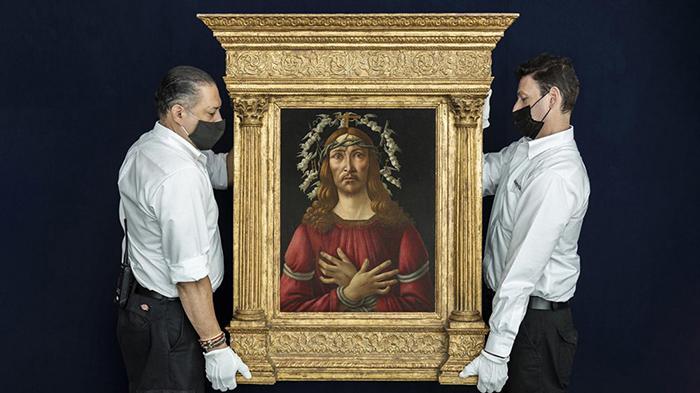 Полотно «Муж скорбей» выставят на продажу в январе. / Фото: robb.report
