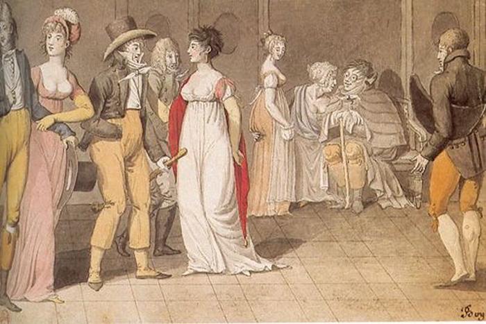 Приговорённым женщинам коротко стригли волосы.