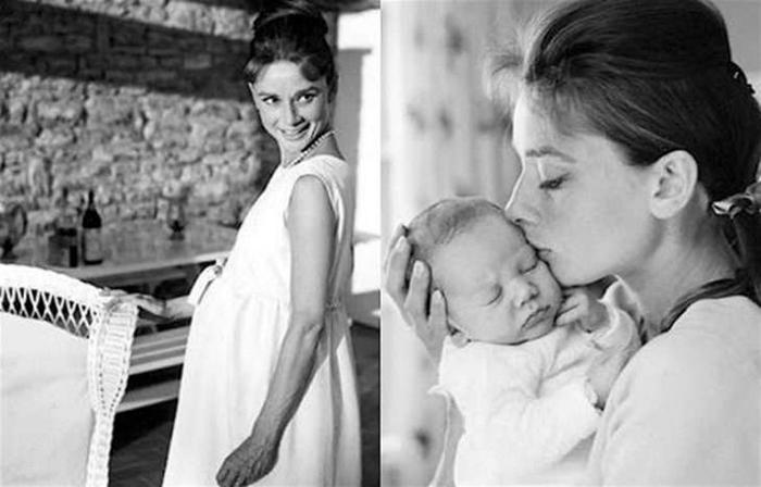 Одри Хепберн стала не только звездой Голливуда, но и прекрасной матерью.