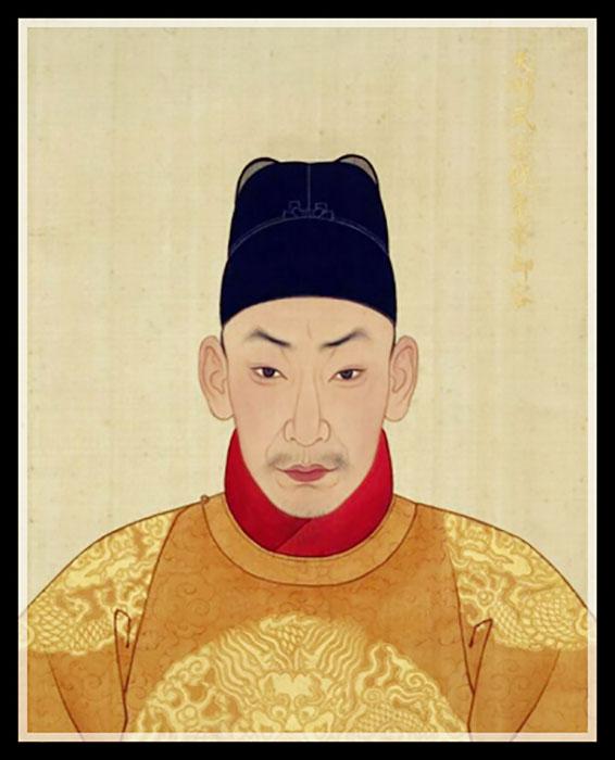 Император Чжэндэ.