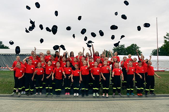 Местная пожарная команда.