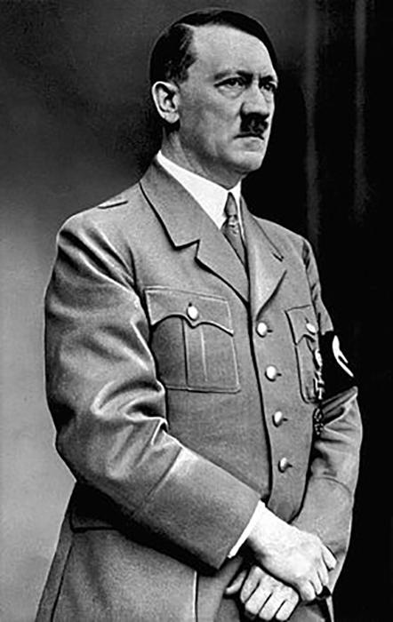 Гитлер говорил, что всегда чувствовал себя немцем.