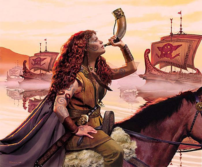 Мятежная королева призвала к восстанию против римлян все соседние племена.