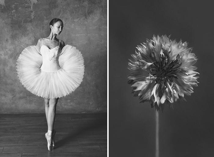 Изящные движения балерины говорят на языке цветов.