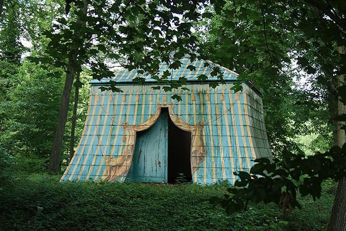 Татарский шатёр на Острове счастья.