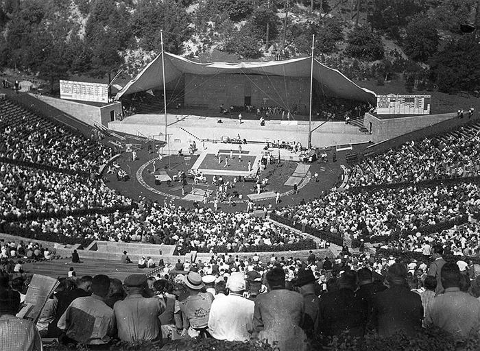 Летние Олимпийские игры в берлинском Вальдбюне, 1936 год.
