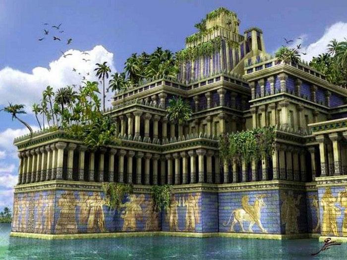 На месте небольших селений постепенно стали вырастать большие роскошные города.