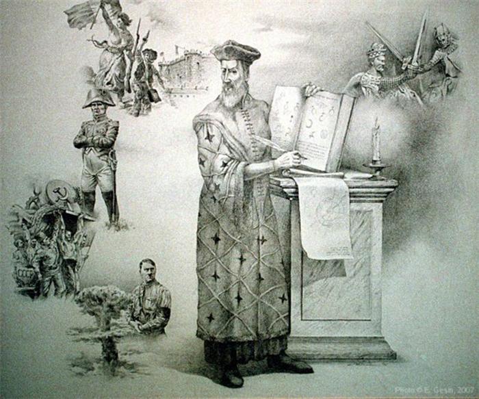 Против чумы Нострадамус боролся, уча пациентов соблюдать гигиену.