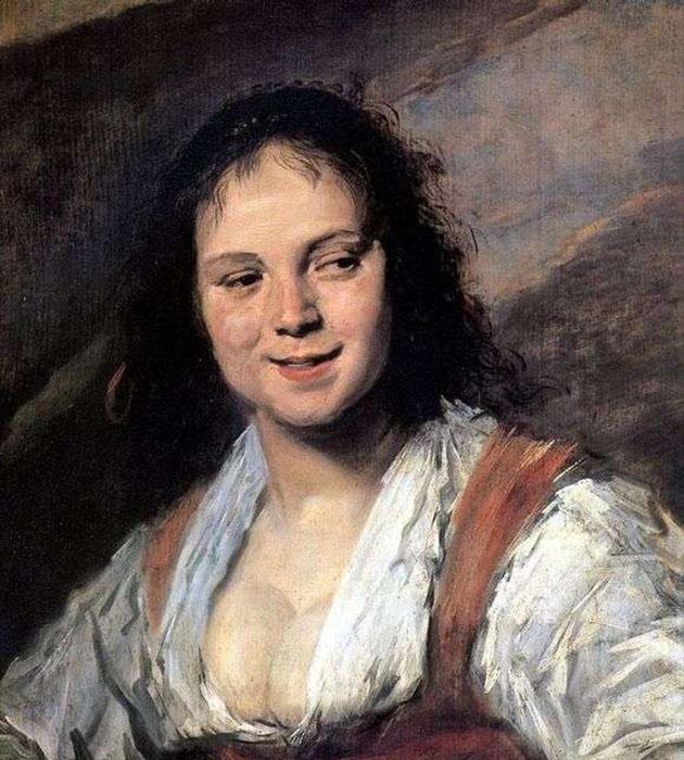 Франс Хальс, Цыганка, 1628 год.