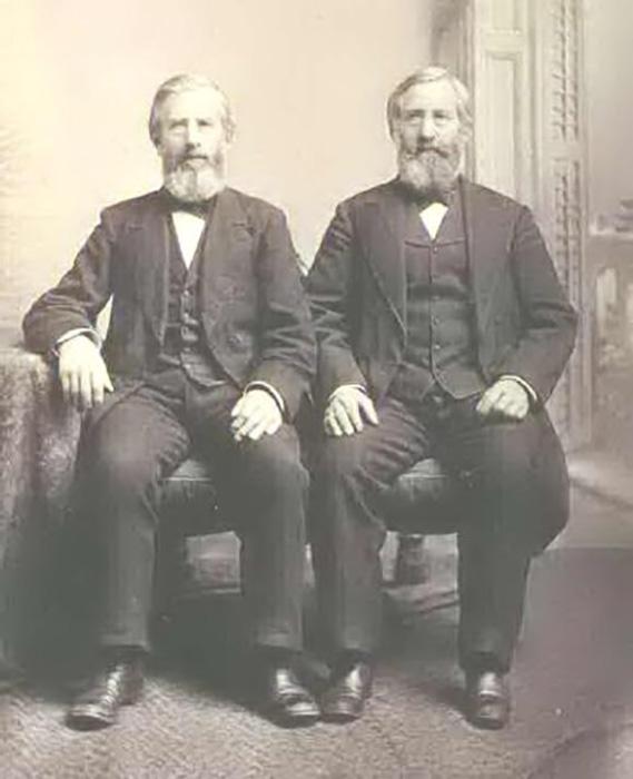 Единственный известный портрет Аргала и Августа Фут.