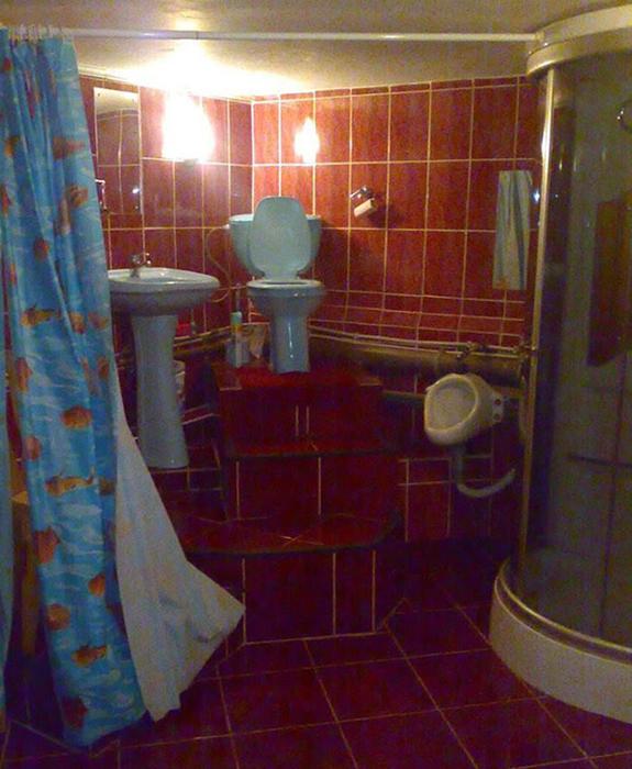 Всемогущий туалетный трон.