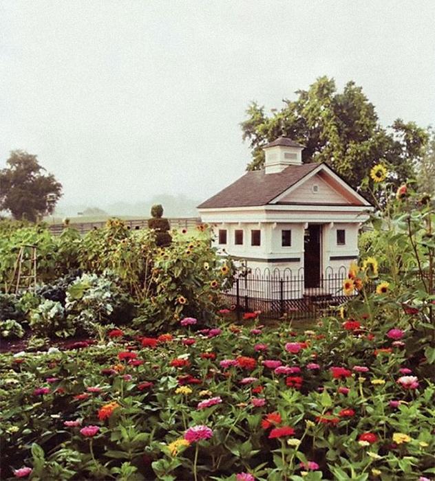 Прекрасный дом, прекрасный сад.