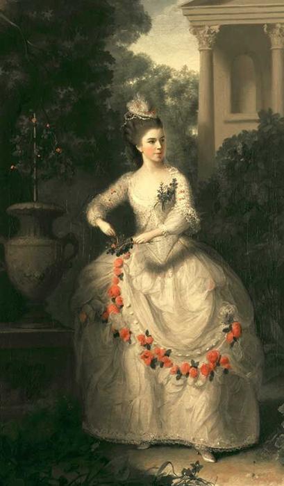 Простолюдинка по происхождению, Китти произвела фурор в высшем свете Лондона.