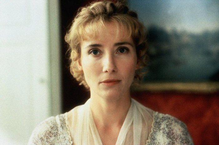 Эмма Томпсон в фильме «Чувство и чувствительность».
