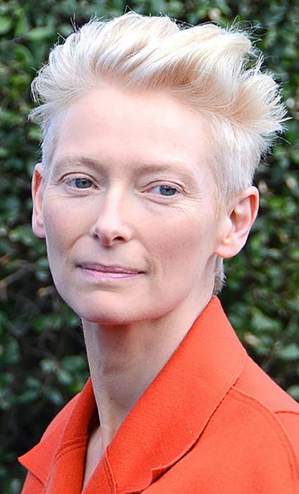 Тильда Суинтон.