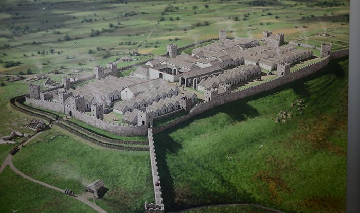 Так выглядел древнеримский форт Виндоланда.