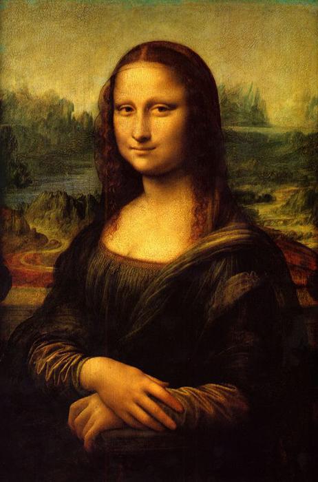 Мона Лиза - самая известная картина да Винчи.
