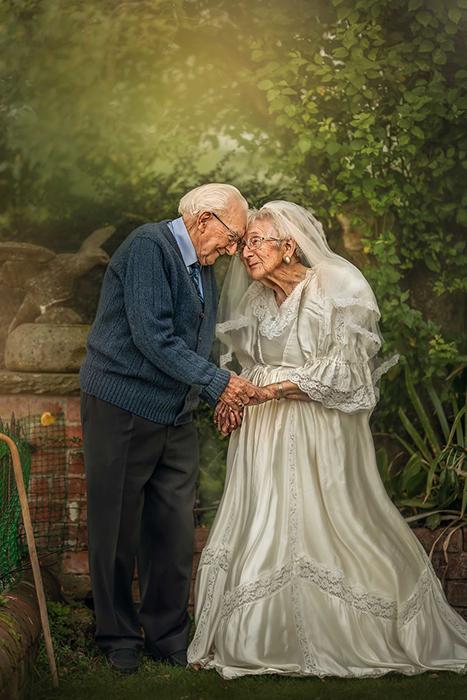 72 года совместной жизни совсем не пережили их любви.