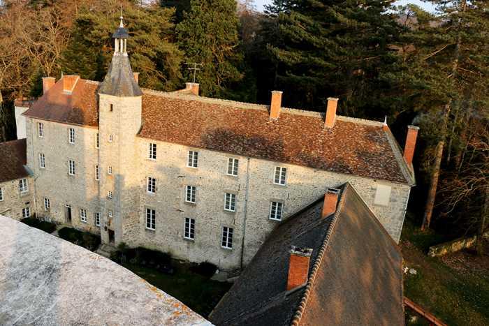 Замок Шато де Бовуар.