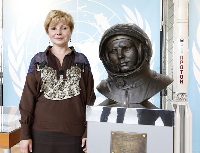 Елена Гагарина.