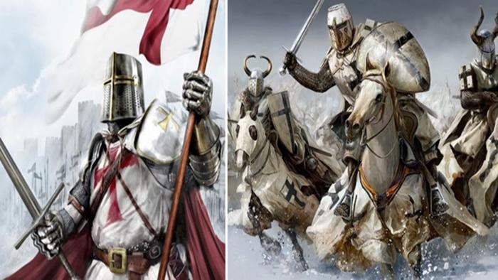 Святые воины были прекрасными бойцами.