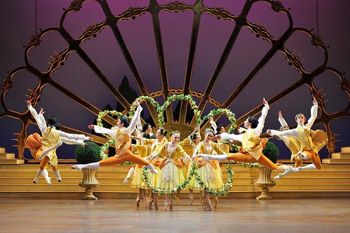 Балет пользуется международной популярностью.