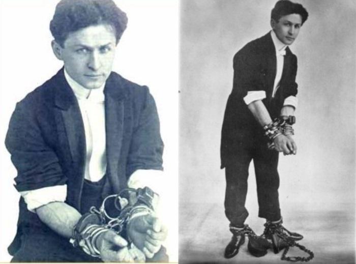 В 13 лет Гарри Гудини ушёл из дома с бродячим цирком.