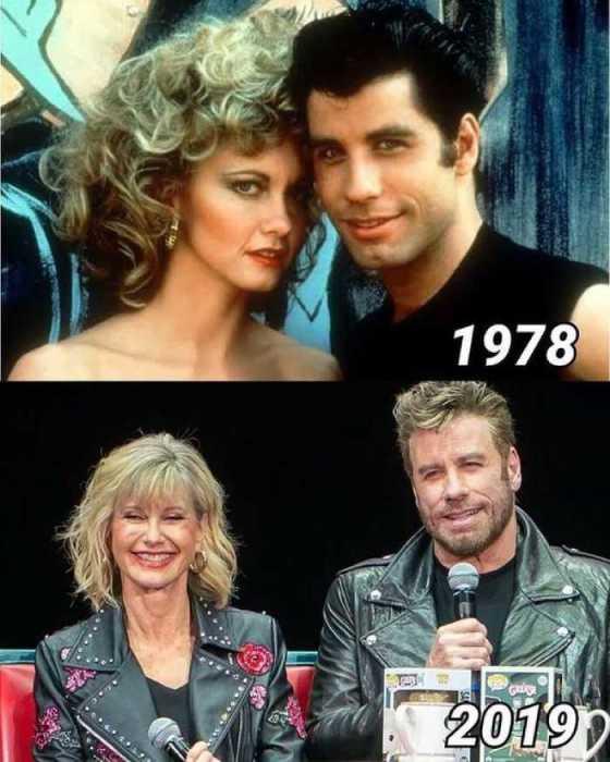 Актёры тогда и сейчас - 41 год спустя.