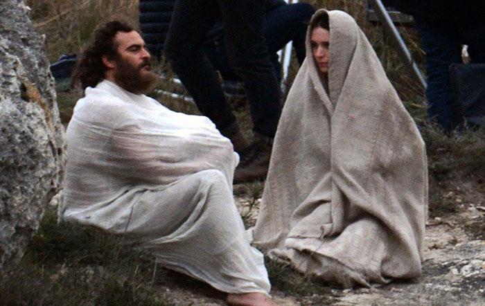 Мария Магдалина и Иисус Христос в фильме «Мария Магдалина».