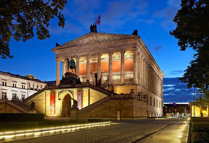 Старая национальная галерея, Берлин.