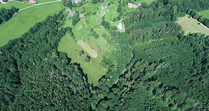 Оружие было обнаружено в лесу, в восточном районе Есеники в Чешской Республике.