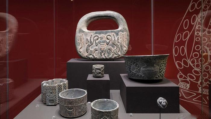 Артефакты, обнаруженные при раскопках поражали мастерством исполнения.
