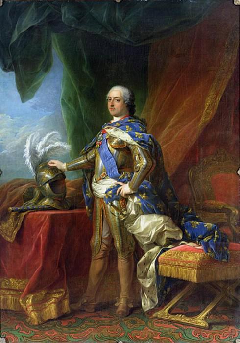 Последний перед потопом - король Людовик XV.