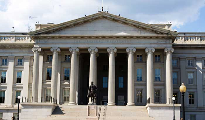 Казначейство США.