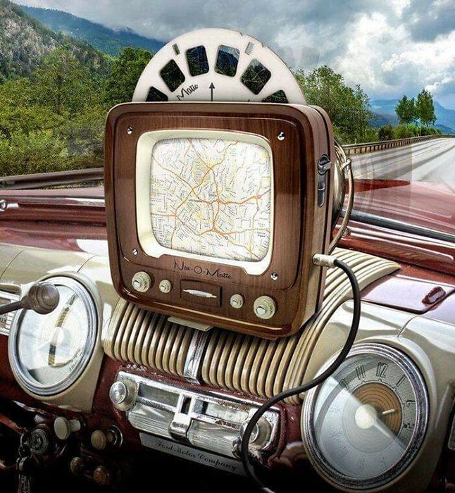 Очень даже симпатичный навигатор.